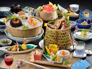 夏の特撰会席のお料理♪(期間限定6/29~9/13)
