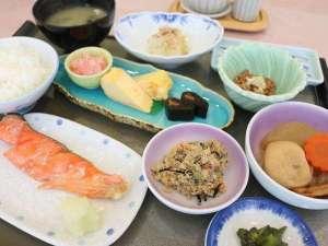 ◆朝食は優しいおふくろの味