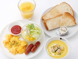 洋スープセット イメージ(モーニングメニュー)