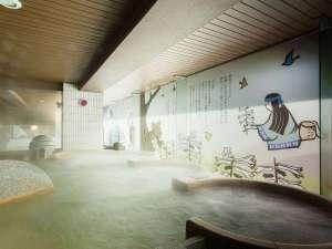 【2F女子大浴場「マッネシリ」】話題のシルキーバスで、癒しの温浴をお楽しみください