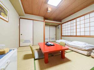 *【和室】ファミリーやグループ様におすすめな和室タイプのお部屋。