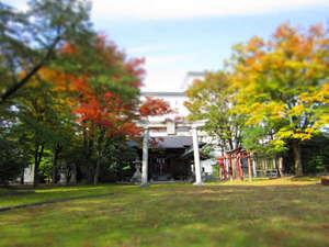 花月楼隣の温泉神社