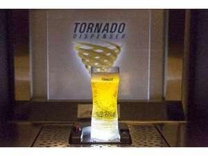 ◆湯上り処SoLA 13階にて19:00-21:00 話題のトルネード生ビール1杯無料にてご提供♪
