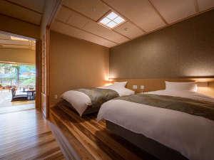 特別室では寝室が分かれているため、ゆっくりとお休みいただけます☆