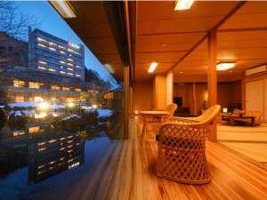 限定2室『離れ』のお部屋広縁からの景色は誰にも邪魔されない景観&静けさを独占できます♪