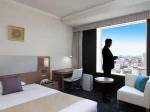 渋谷らしい部屋にしようとこだわったビューフロア。(写真はビューシングル)