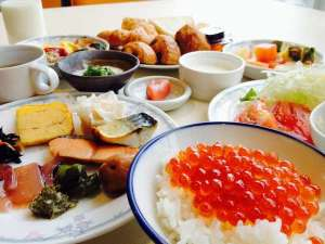 【朝食バイキングイメージ】(※朝食は個人盛りの場合有)※4月よ内容が変わります。