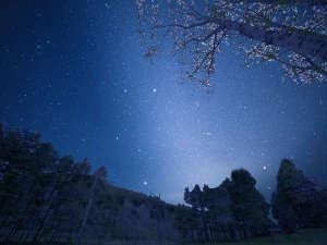 ホテルすぐ前には星見の広場。天に広がるプラネタリムに『感動』!美しき銀河の星々に抱かれる一時を――