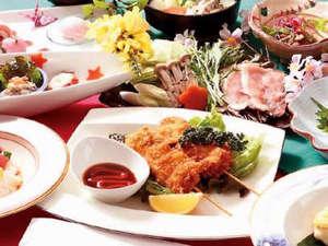 『じゃらん限定★美食美泉プラン』♪砂川市の上原ポークを使った鍋と串カツがメイン料理