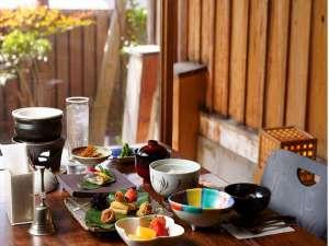 朝食/個室
