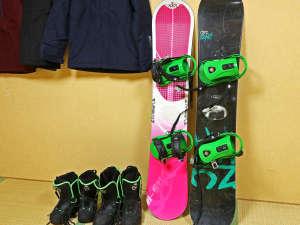 スキー・ボードからウエアまで、各種レンタルも実施しております♪