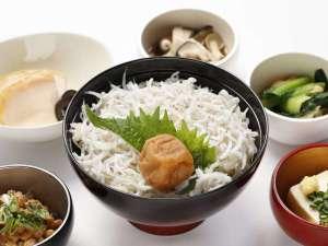 ◆梅しらす丼(イメージ)