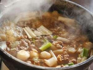 朝食バイキング 山形郷土料理の芋煮