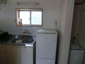 各部屋キッチン・冷蔵庫完備