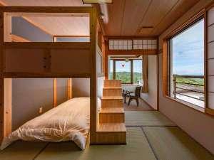 【LOFT/山小屋風和室 2段ベッド】3部屋共に間取りが異なります。