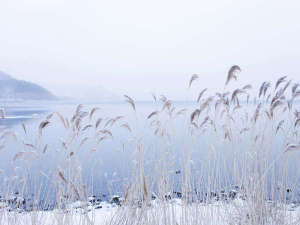 【冬】寒さ厳しい冬の北海道。ひときわ澄んだ空気が流れる洞爺湖畔。