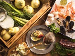 【6~8月限定・夕食ブッフェ】北海道が育んだ海と大地の恵みをブッフェで贅沢にお楽しみ下さい!