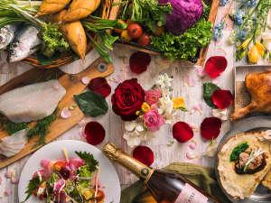 【3~5月限定・夕食ブッフェ】プティ・プレジール~春が訪れた小さな喜びをお料理でお届けします。