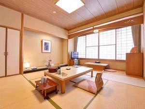 *和室8畳(客室一例)/畳の香りがほのかに薫るお部屋でのんびりとお寛ぎ下さい。
