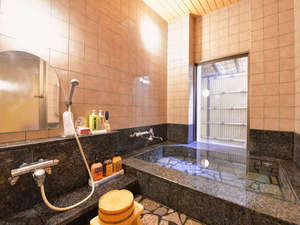 *家族風呂/ゆっくりプライベートで温泉を愉しみたいお客様にピッタリ!※要予約(60分1210円)