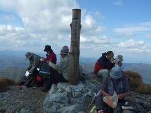 富良野西岳頂上