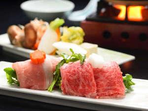 エゴマ豚や馬刺し等会津の味が堪能できる絶品和会席。ふかひれやアワビ、福島牛等の高級食材も贅沢に使用。