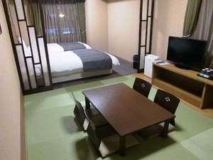 ◆ゆったり寛ぎの和洋室。大人最大4名まで利用可能!