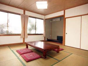 【お部屋一例】6~10畳の客室をご予約人数に合わせてご用意いたします