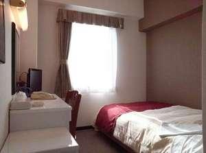シングルルーム ベッド1台 ユニットバス ウォシュレット付 Wi-Fi