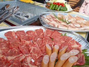 BBQのお肉は黒毛和牛を使用!ボリュームもたっぷり♪