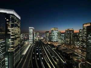 駅を見下ろす眺望イメージ(東京駅側)