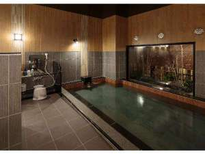 大浴場『旅人の湯』15:00-2:00、5:00-10:00~大きいお風呂でおくつろぎ下さい♪~