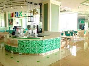 4月末のオープンした朝食専用レストラン