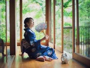 日本庭園休み処「忍庵」で季節を愉しむひととき(夏)