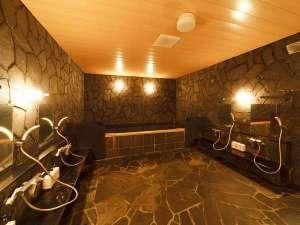 宿泊者専用の無料浴場を完備しております!営業時間/16:00~25:00  6:00~9:00