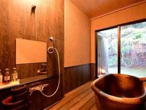 ◆半露天風呂付客室一例