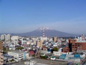 客室からは津軽富士、岩木山を望む絶好のロケーションです。