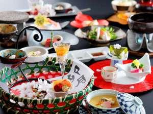 ◆季節の旬と地場の旨さを演出するお料理 ※イメージ