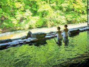爽やかな風と共に温泉をお楽しみください♪