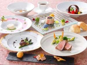 ◎夕食 フランス料理春