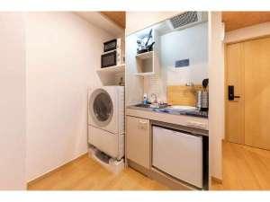 キッチン&洗濯乾燥機(全部屋同一レイアウト・設備)