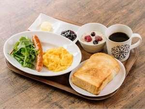 2種類からお選び頂ける朝食プレート♪