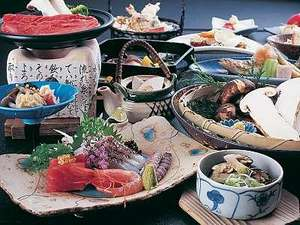 【秋の松茸懐石料理】一例