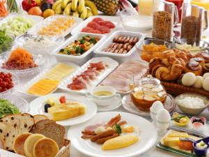 約70種の料理が愉しめるご朝食ブッフェ※イメージ