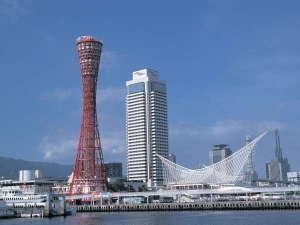 神戸のウォーターフロントに建つ、地上35階建シティホテル