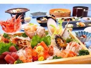 羽幌海席プラン料理一例