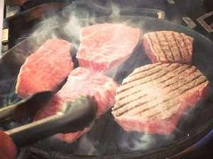 土曜限定スペシャルディナーメニュー「黒五和牛のステーキ」