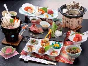 和食膳の一例 ※お料理の写真はイメージです。メニューが変更となる場合がございます。