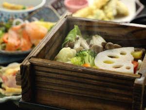 夕食_蒸し物2