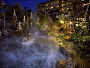北陸最大級の庭園露天風呂の宿 清風荘